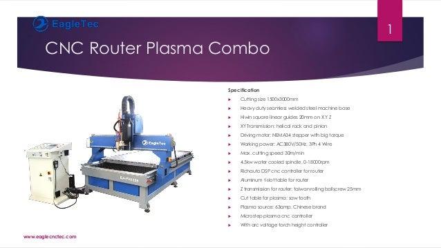 CNC Router Plasma Combo Catalog PDF EagleTec