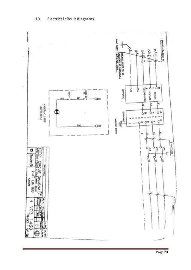 Cnc Lathe Machine Electrical Diagram