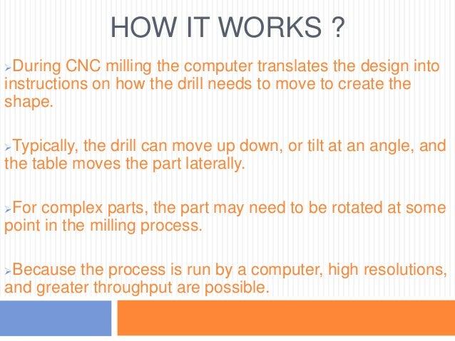 Materials used for CNC Milling Tools  Aluminum Carbon Steel  Stainless Steel  Titanium  Brass  Copper  Fiberglass  ...