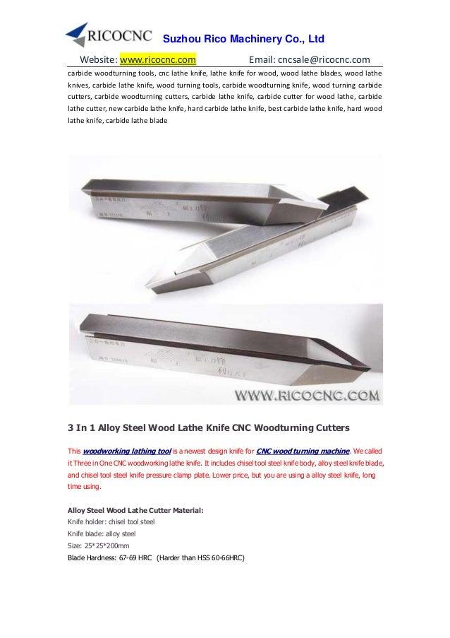 Cnc wood turning lathe cutters bits knife tools