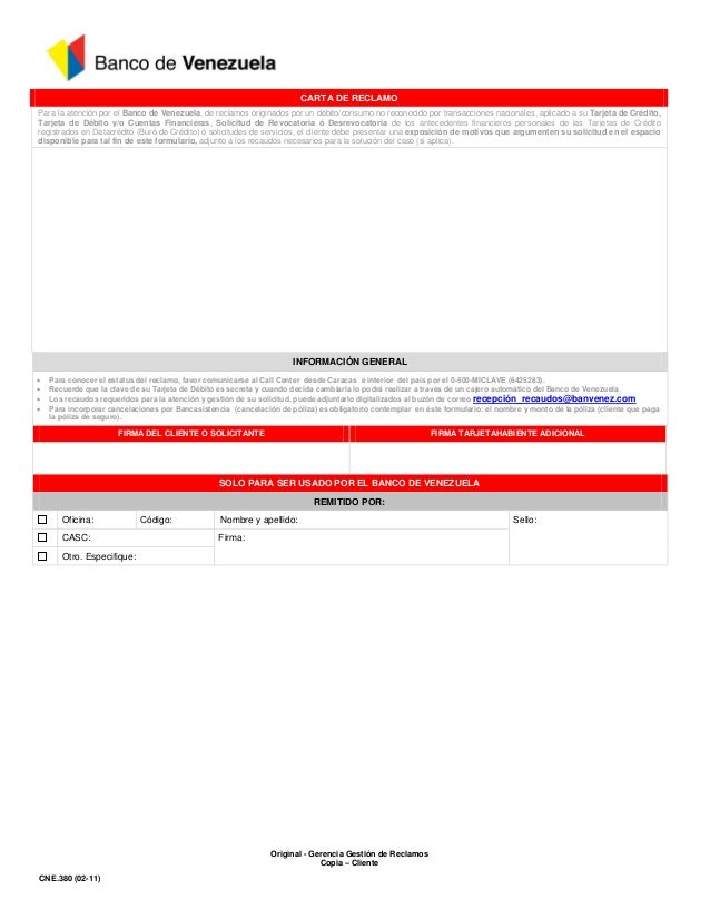 Prestamos inmediatos bogota colombia blog for Banco de venezuela solicitud de chequera