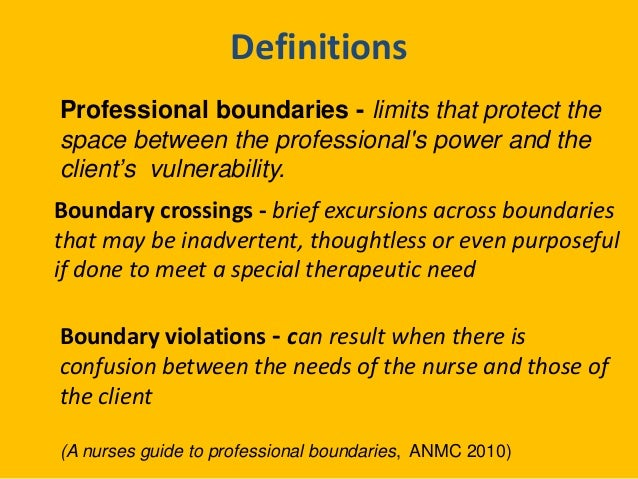 lifelong learning and professional boundaries A guideline for queensland teachers 4 learning to recognize professional boundaries between teachers and students being.