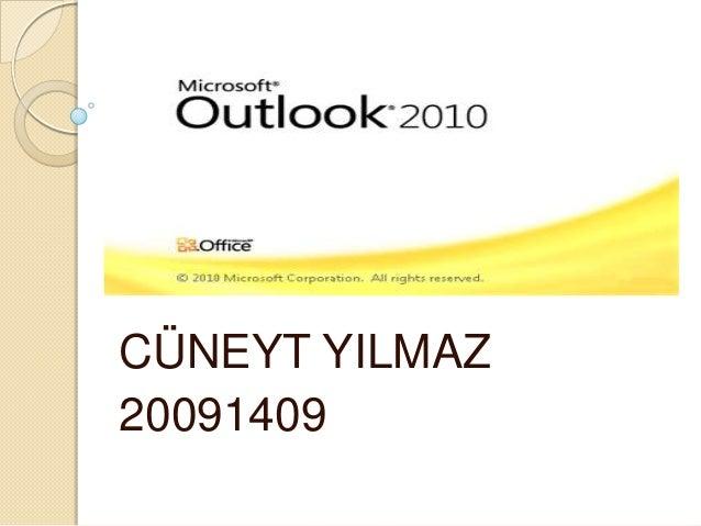 CÜNEYT YILMAZ20091409