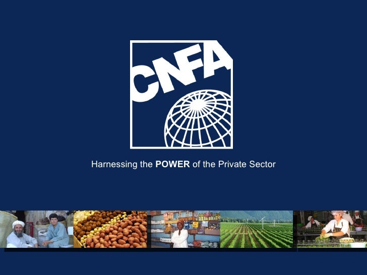 Harnessing the  POWER  of the Private Sector