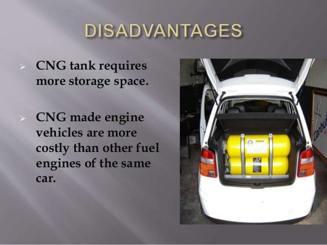 compressed natural gas as a fuel