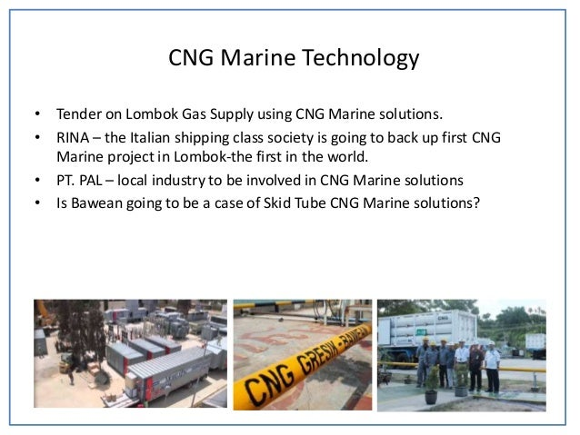 Cng marine for gas distribution in indonesia 2012 s