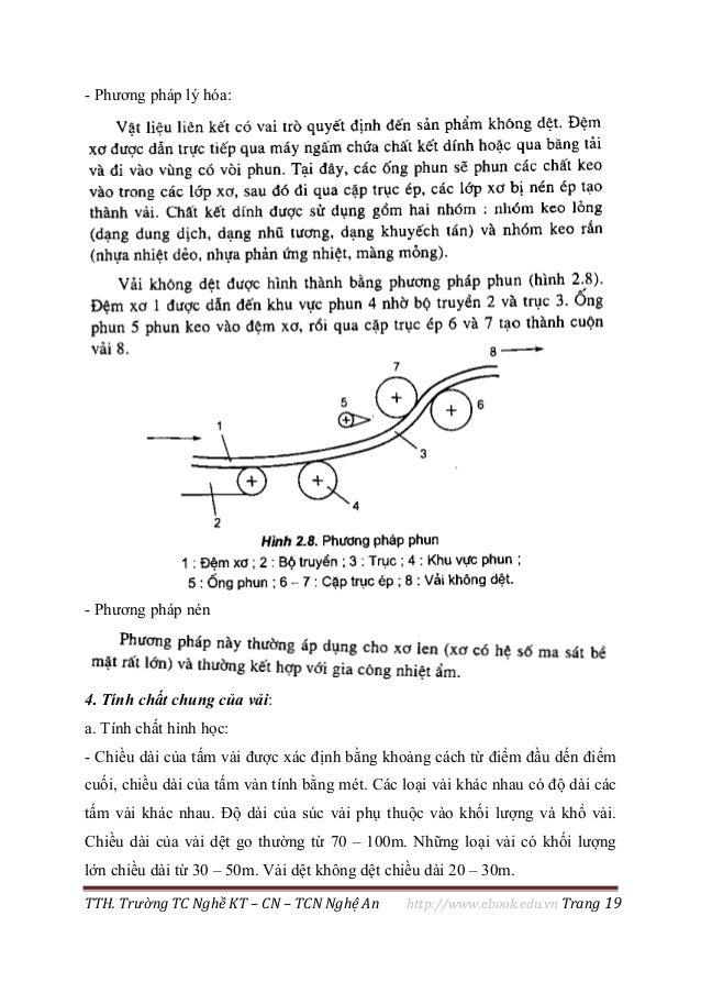 TTH. Trường TC Nghề KT – CN – TCN Nghệ An http://www.ebook.edu.vn Trang 19 - Phương pháp lý hóa: - Phương pháp nén 4. Tính...