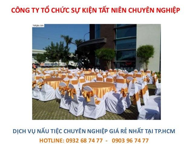 Dịch vụ nấu tiệc cưới hỏi tại nhà, chuyên nghiệp giá rẻ tại Tp.HCM Slide 3