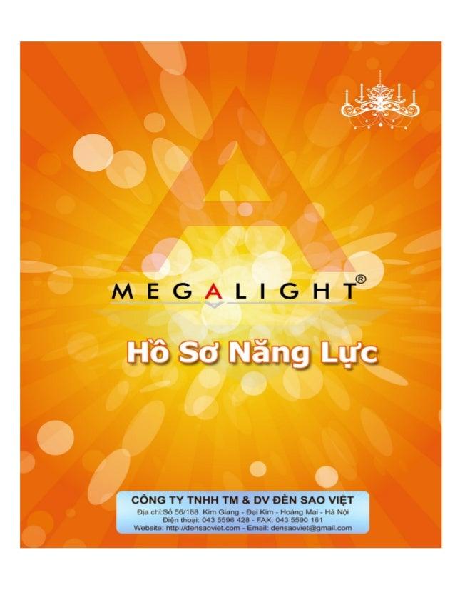MỤC LỤC  CÔNG TY TNHH THƯƠNG MẠI VÀ DV ĐÈN SAO VIỆT  Address: Số 56 - Tổ 31 - Phường Đại Kim - Hoàng Mai - Hà Nội  Tel: 04...