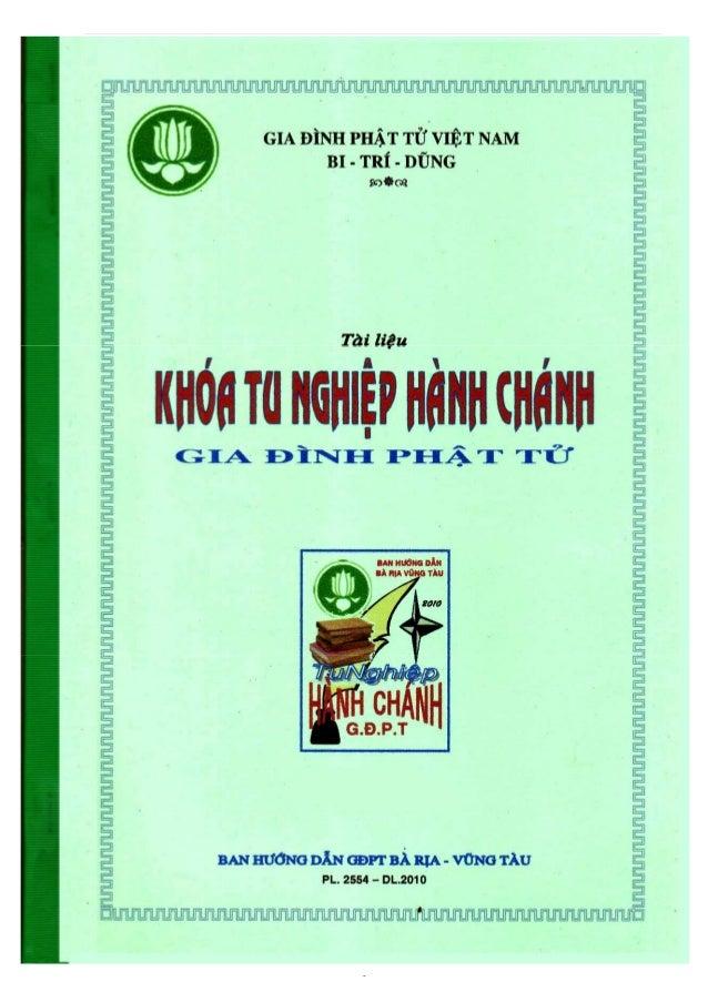 Ban Hướng Dẫn Bà Rịa-Vũng Tàu         Tài liệu TU NGHIỆP HÀNH CHÁNH GĐPT                                -1-