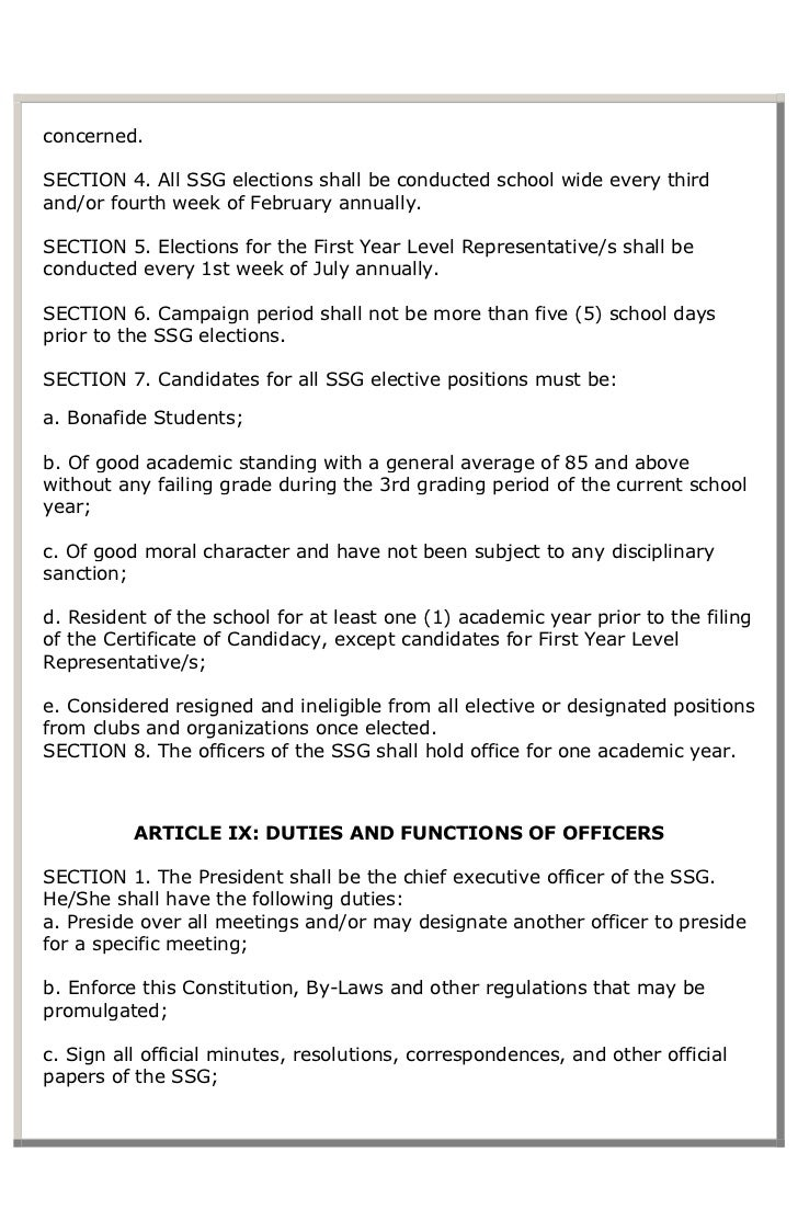 AECES Constitution and by-laws