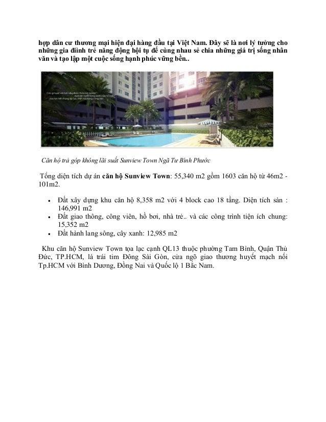 Căn hộ sunview town pdf Slide 2
