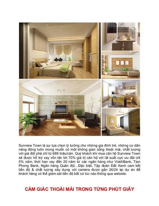 Sunview Town là sự lựa chọn lý tưởng cho những gia đình trẻ, những cư dân năng động luôn mong muốn có một không gian sống ...