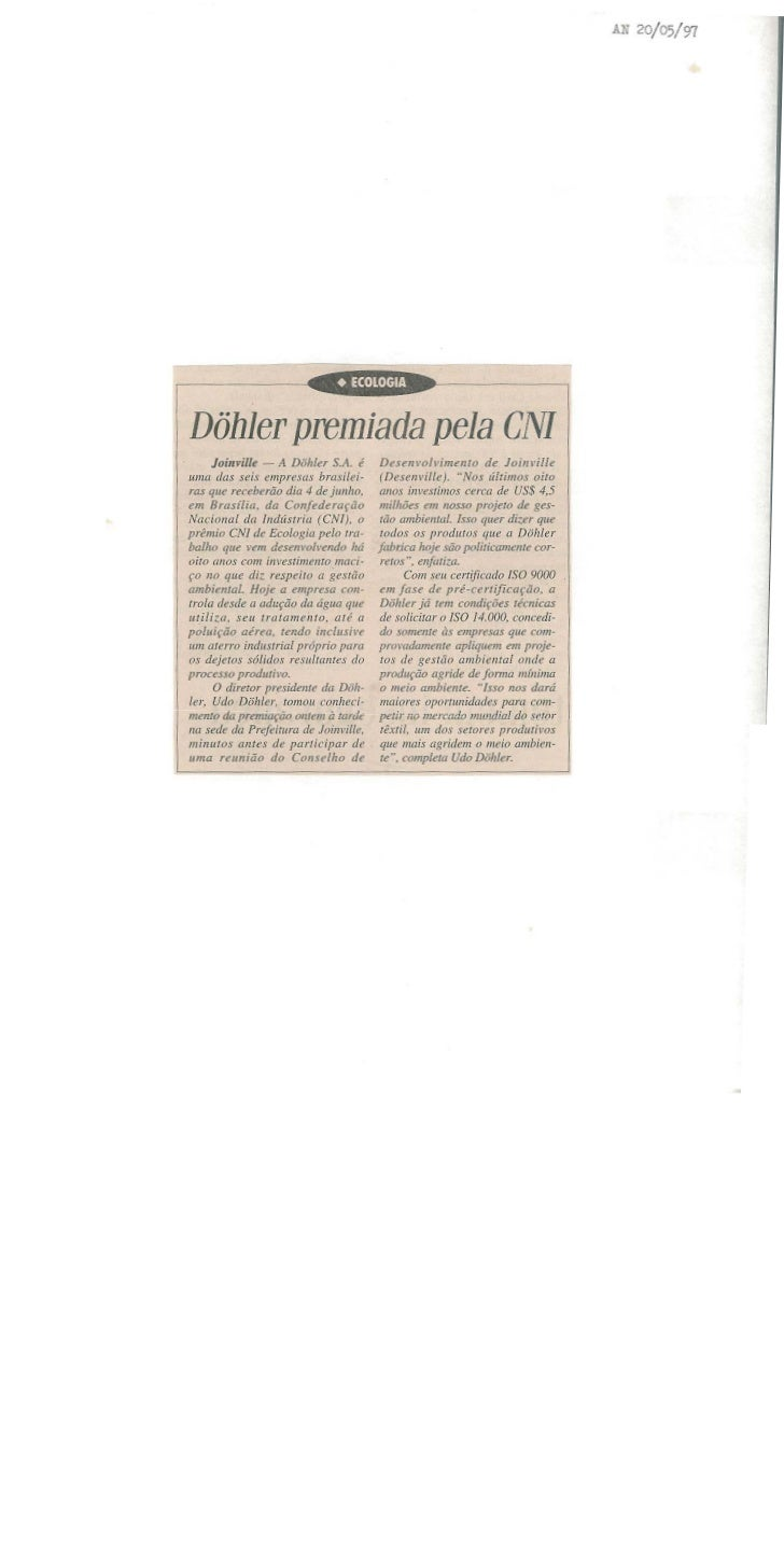 Prêmio CNI de ecologia