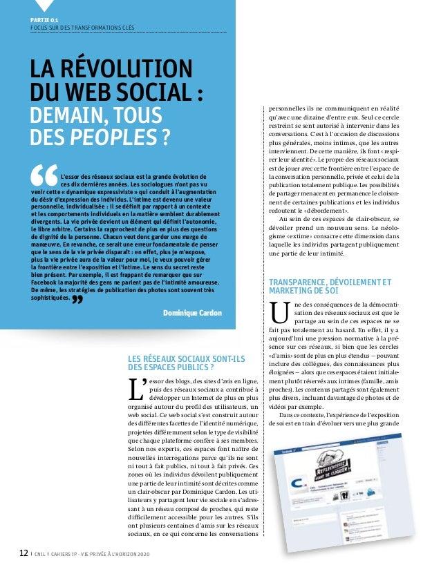 Partie 0 1     Focus sur des transformations clés     La révolution     du Web Social:     demain,tous                  ...