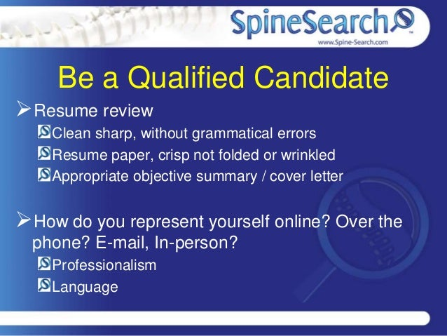 Resume Does Not Represent Skill