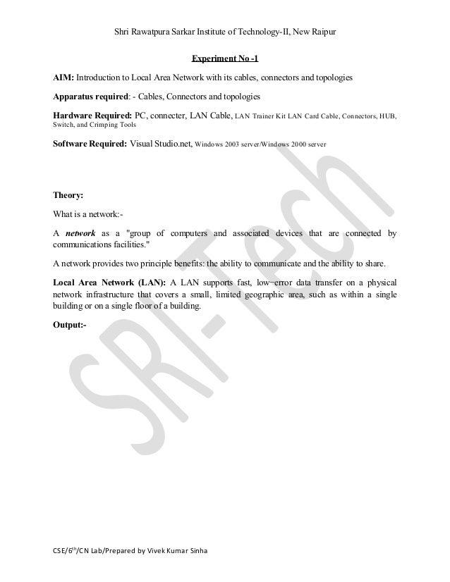 cn lab manual rh slideshare net Data Communication System Organizational Communication and Data Flows