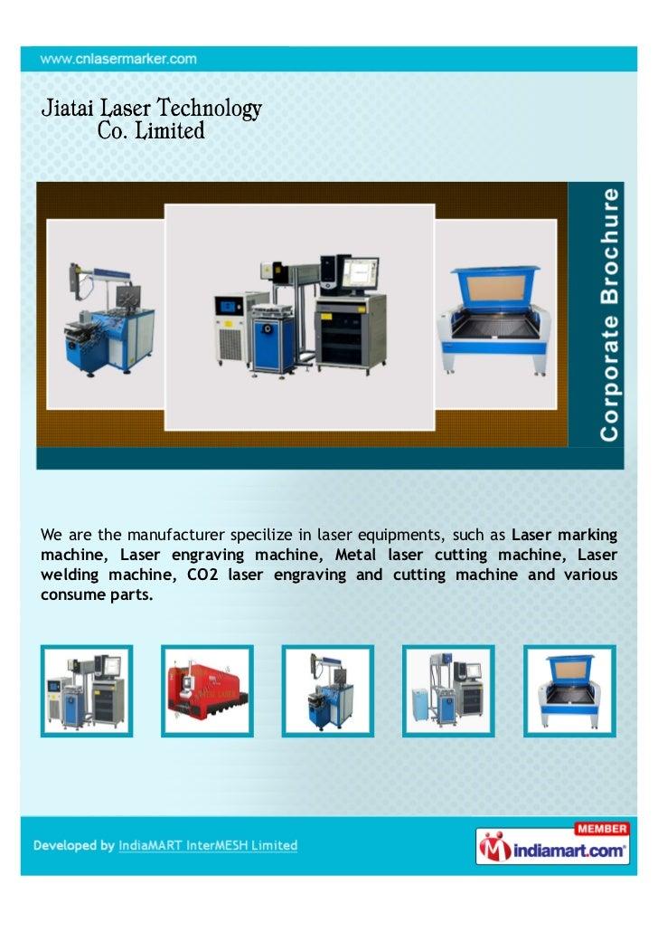 We are the manufacturer specilize in laser equipments, such as Laser markingmachine, Laser engraving machine, Metal laser ...