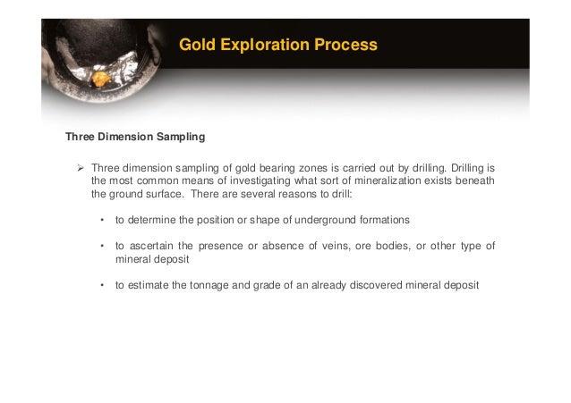 gold exploration methods and sampling pdf