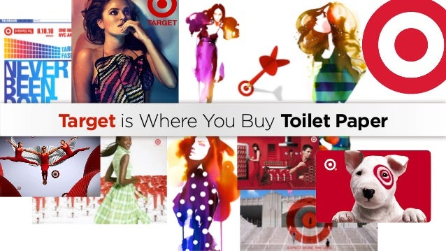 Target is Where You Buy Toilet Paper