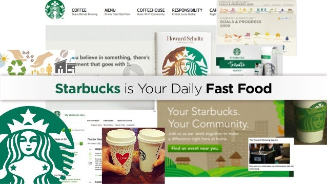 Starbucks is Your Daily Fast Food