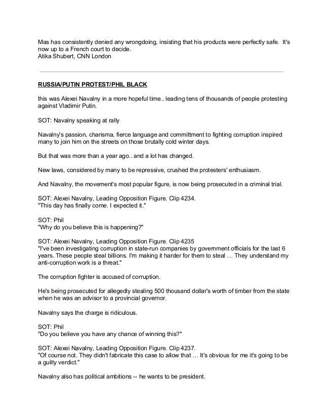 tv news script sample pdf