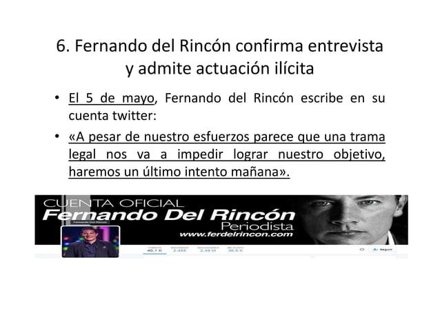 8.- Samuel Doria Medina confirma la entrevista en twitter • El 7 de mayo, Samuel Doria Medina escribió en su cuenta twitte...