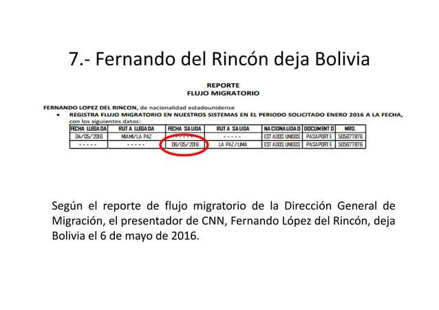9.- Gabriela Zapata promociona la entrevista de CNN al falso niño El 12 de mayo de 2016, Zapata en alusión a su supuesto h...