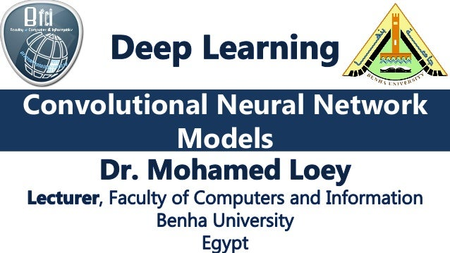 CNN Models Convolutional Neural Network Models