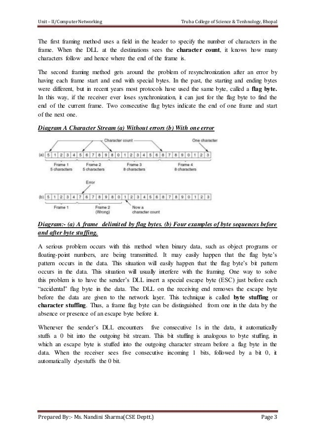 computer networks notes for mca pdf free
