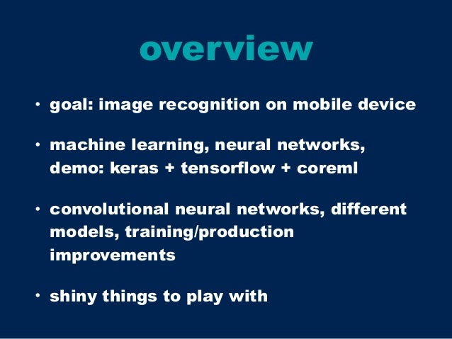 convolutional neural networks, swift and iOS 11