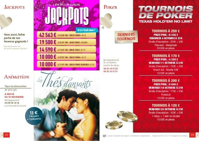Casino News Octobre/Novembre 2013 Slide 2
