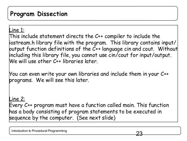 procedural programming Procedural programming is a programming paradigm, derived from structured  programming, based upon the concept of the procedure call procedures, also.