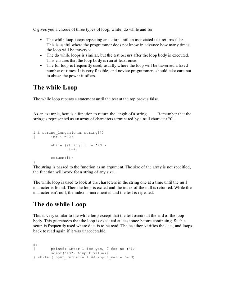 C notespdf loops 15 fandeluxe Images