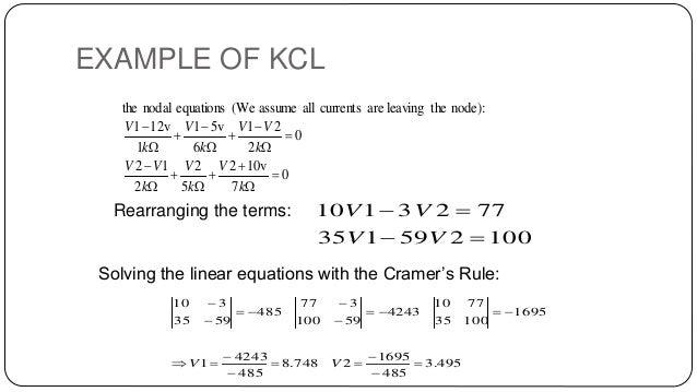 KCL KVL PROBLEMS PDF DOWNLOAD