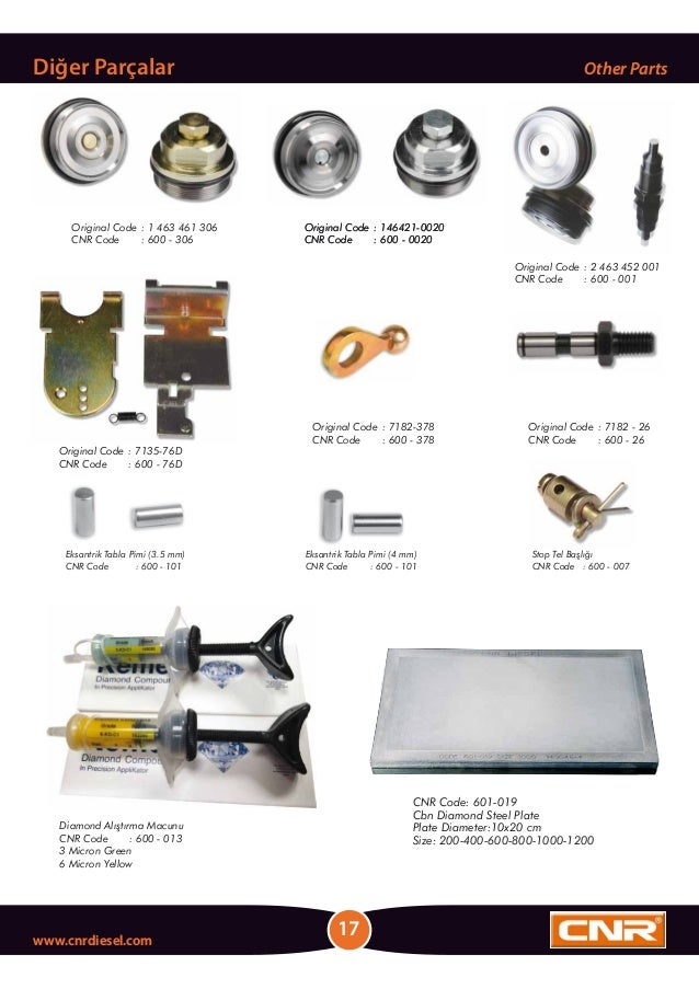 Diamond Alıştırma Macunu CNR Code : 600 - 013 3 Micron Green 6 Micron Yellow CNR Code: 601-019 Cbn Diamond Steel Plate Pla...