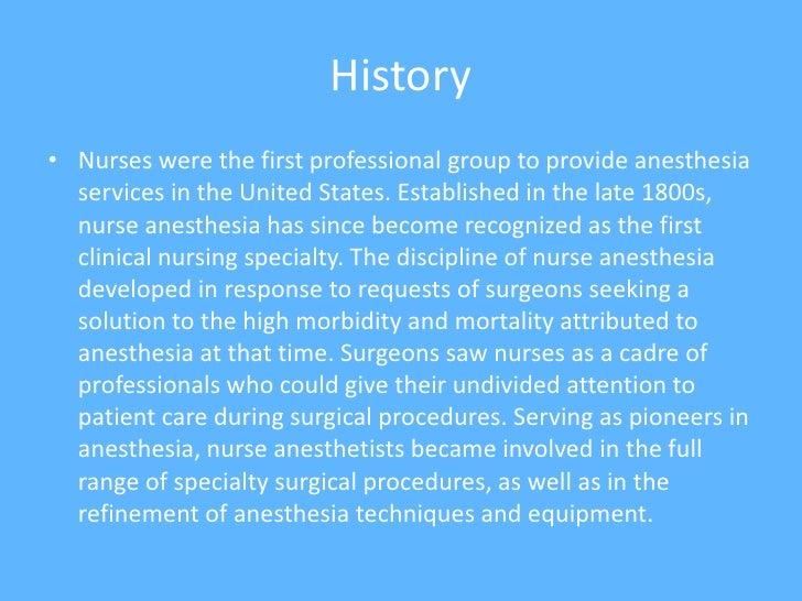 Certified Registered Nurse Anesthetist