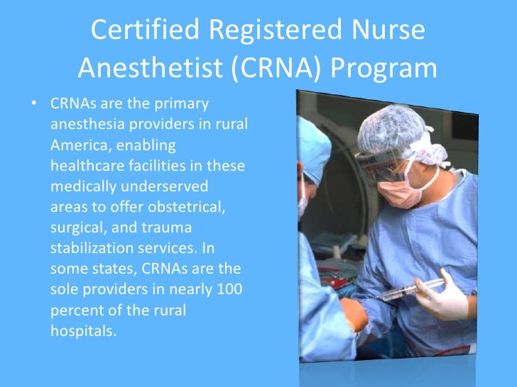 nurse anethesist online Find the cost of nurse anesthetist school for all 114 accredited nurse anesthesia schools you'll find the price varies widely from one school to the next.