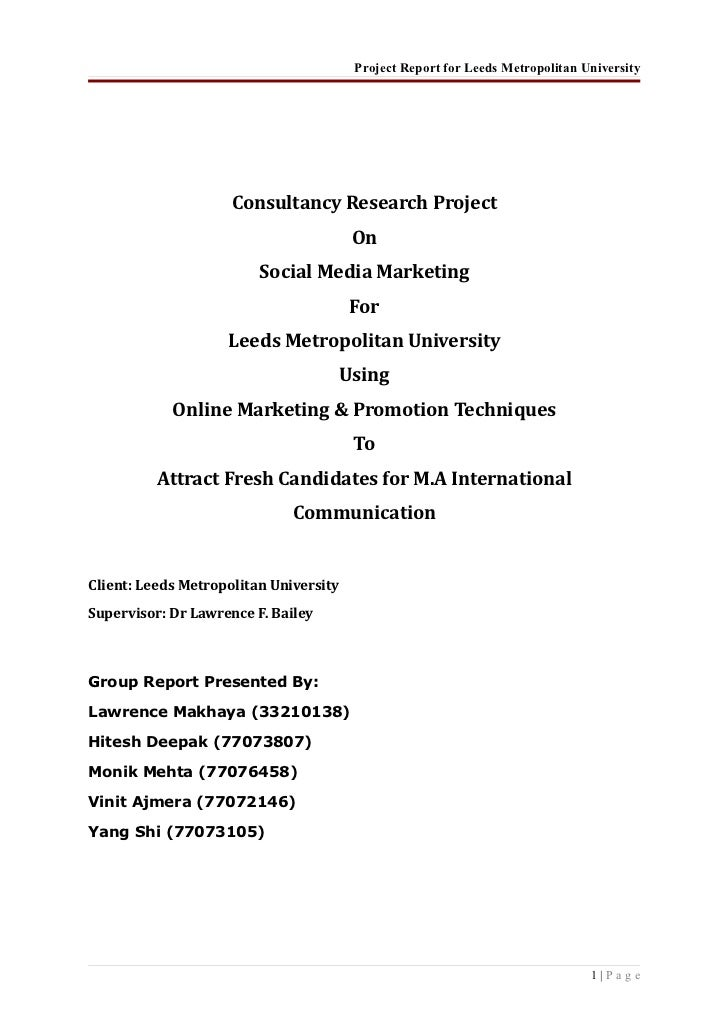 research paper social media marketing A business proposal on direct marketing in social media this paper is a  such simple algorithm allows writing a proper social media essay or a research paper.