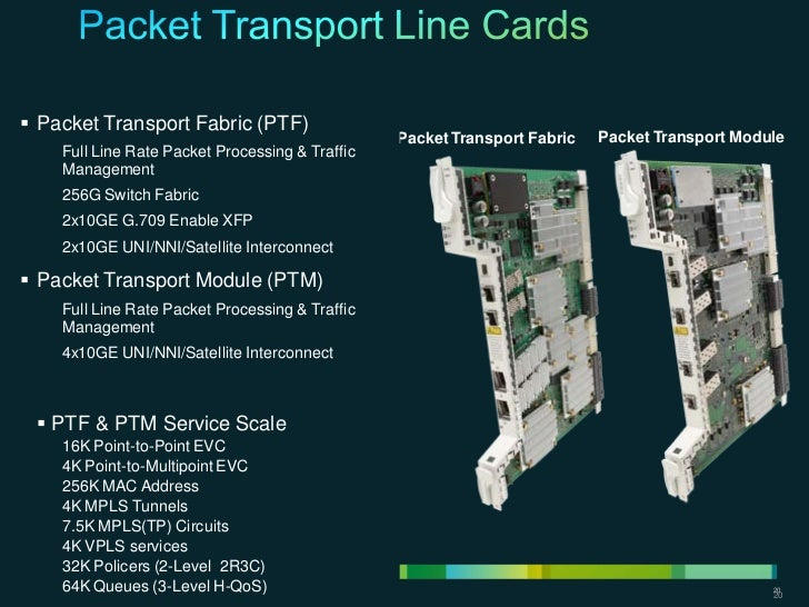  Packet Transport Fabric (PTF)                                                            Packet Transport Fabric   Packe...