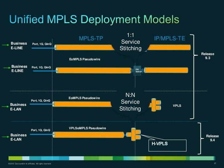 1:1                                                                MPLS-TP                             IP/MPLS-TE   Busine...