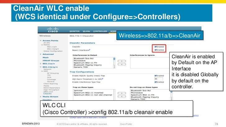 Understanding CleanAir Technology to improve Wlan Spectrum
