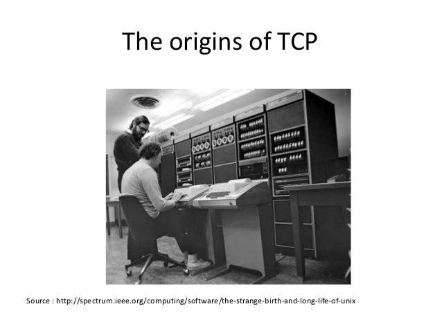 Beyond TCP: The evolution of Internet transport protocols Slide 3