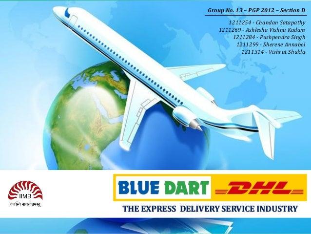 blue dart courier ppt