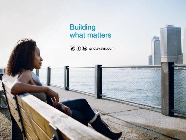 snclavalin.com Building what matters