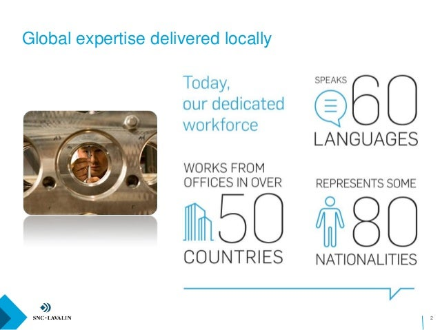 Global expertise delivered locally 2