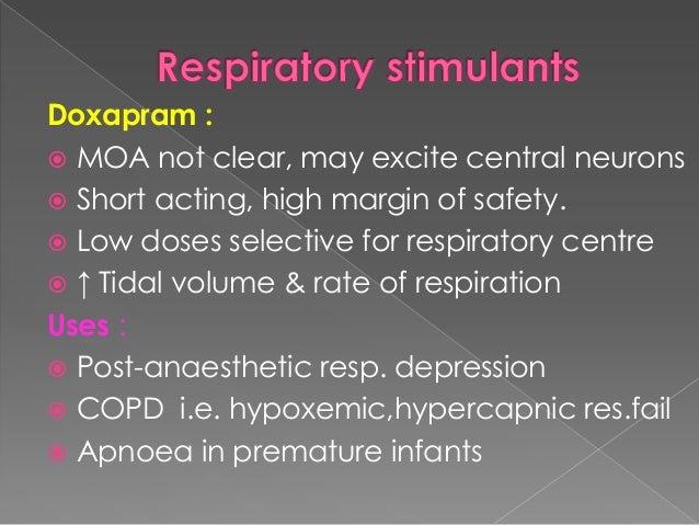 Dose- 2-5mg/min(max 4mg/kg) slow i.v infusion. Contraindications:  Hypoxaemic, normocapnic resp.failureasthma  Resp.fail...