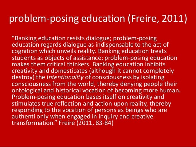 problem posing education