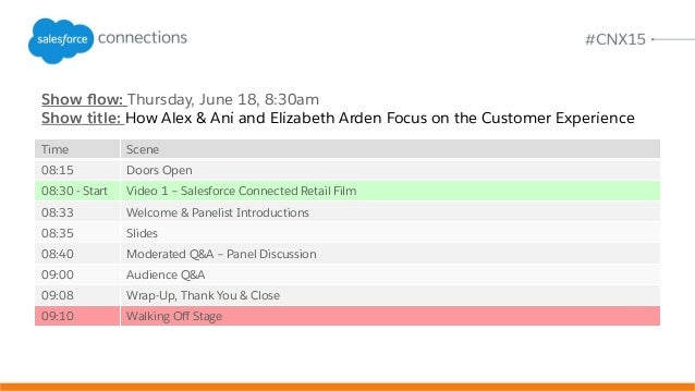 Show flow: Thursday, June 18, 8:30am Show title: How Alex & Ani and Elizabeth Arden Focus on the Customer Experience Time S...
