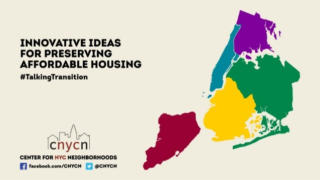 Affordable Housing Preservation ~ 1 million rent regulated units; 47% of all NYC rental housing Over past 30 years, net lo...